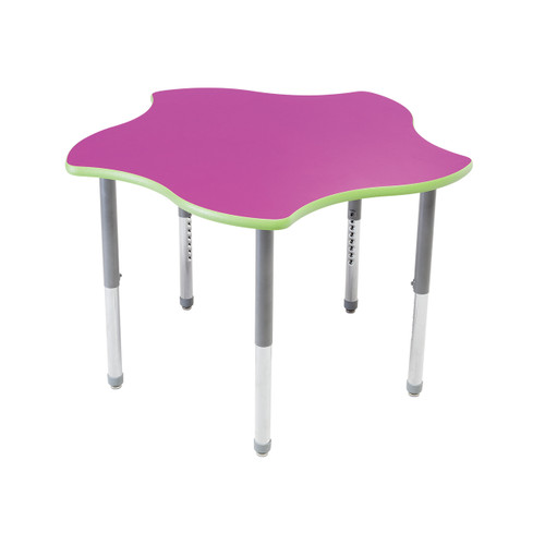 Whiteboard Table / Markerboard Table / Dry Erase Tables - Activity Legs - Surf