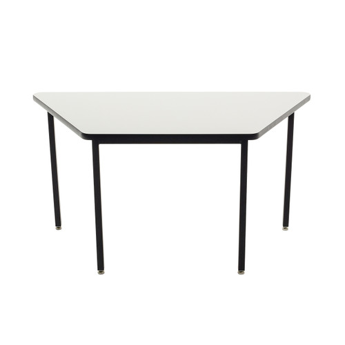 Whiteboard Table / Markerboard Table / Dry Erase Tables - Utility - All Welded - Trapezoid