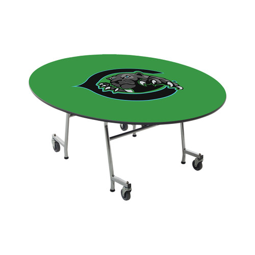 Mobile E-Z Tilt Table - Oval