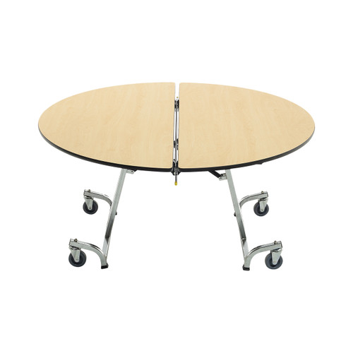 Mobile Shape Table - Round - T Legs