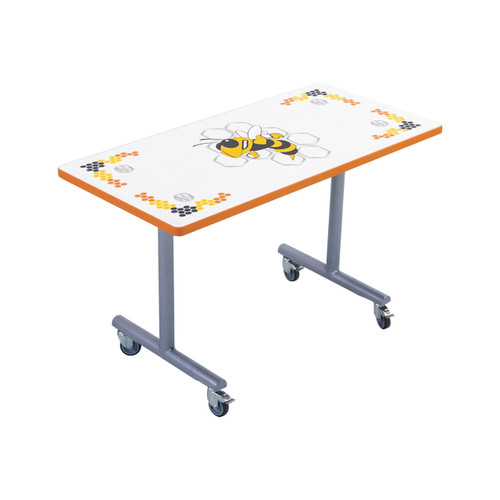 Mobile Folding Booth Table