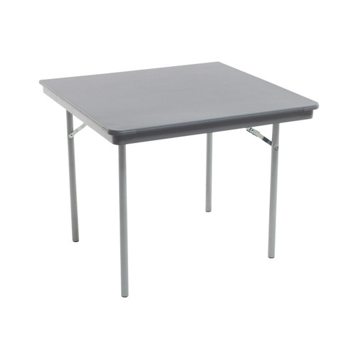 Dynalite Featherweight Heavy-Duty ABS Plastic Folding Table - Square