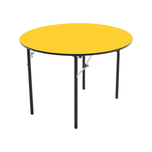 Folding Table - Plywood Core - Round