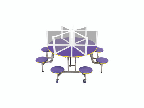 Table Shields - Free Standing - Round