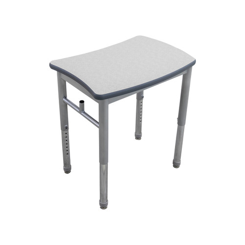 Curved Collaborative Learning Desk