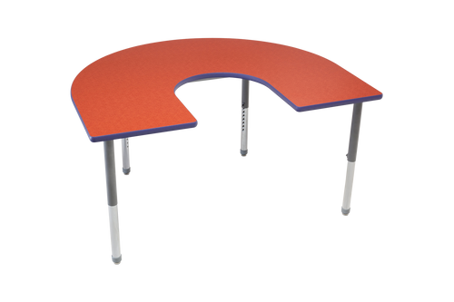 Multi-Functional Collaborative Activity Table - Genesis Collection - Horseshoe