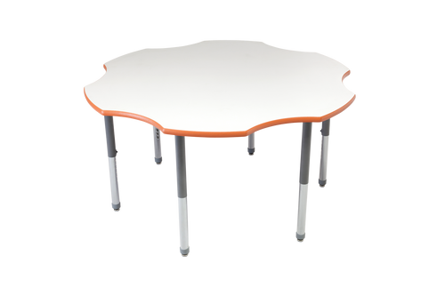 Multi-Functional Collaborative Activity Table - Genesis Collection - Flower