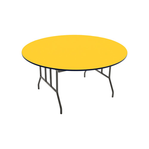 Folding Table - Particleboard Core - Round