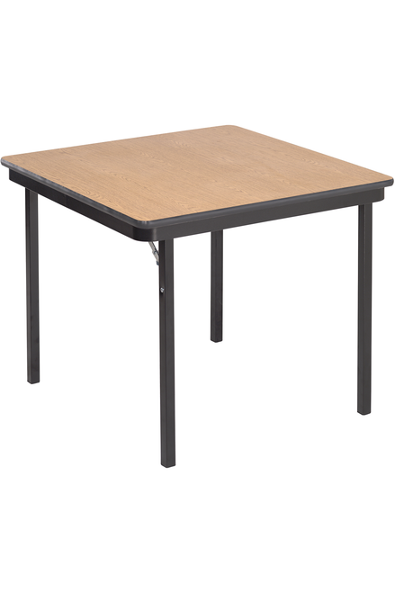 Folding Table - Particleboard Core - Square