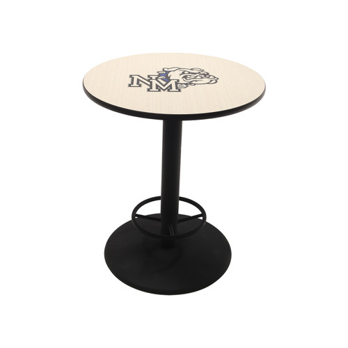 Cafe Table - Round - Cast Iron Pedestal Base