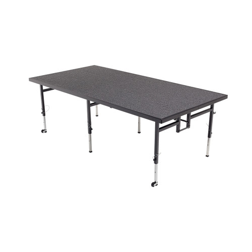 Adjustable Height Stage - Carpet Top