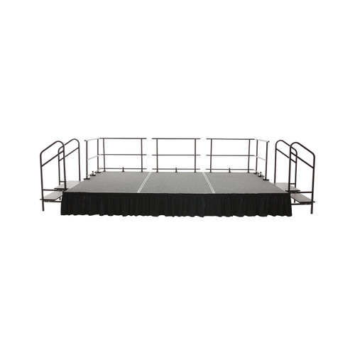 Fixed Height Stage Set - Carpet Top