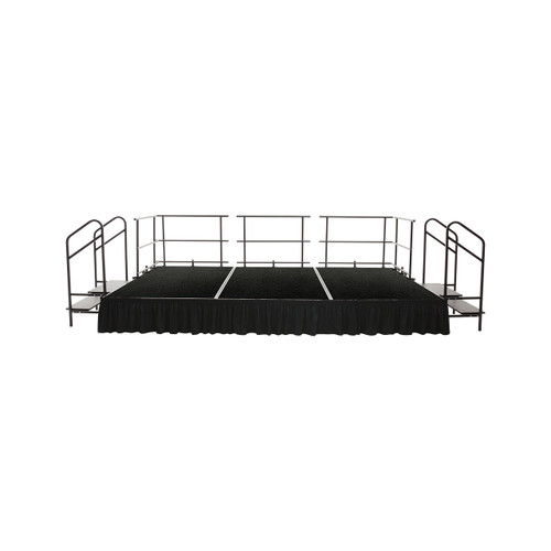 Fixed Height Stage Set - Polypropylene Top