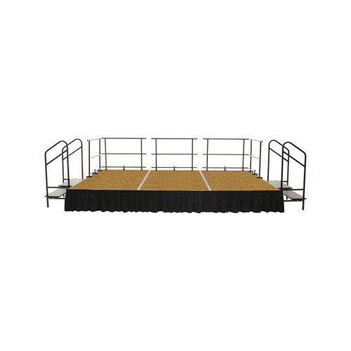 Adjustable Height Stage Set - Hardboard Top