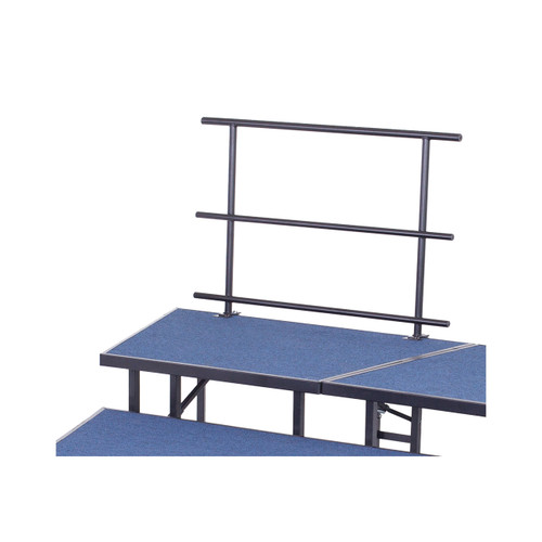 Stage and Riser Guard Rail - Chair Stop