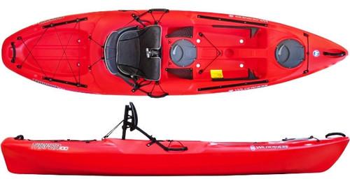 Wilderness Systems Tarpon 100 Kayak with AirPro Seat - Red