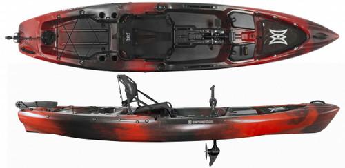 Perception Pescador Pilot 12 -Red-Tiger-Camo