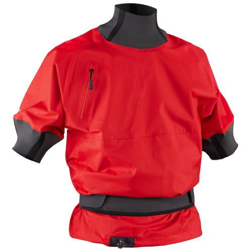 NRS Stratos Shorty Jacket, Front, Salsa
