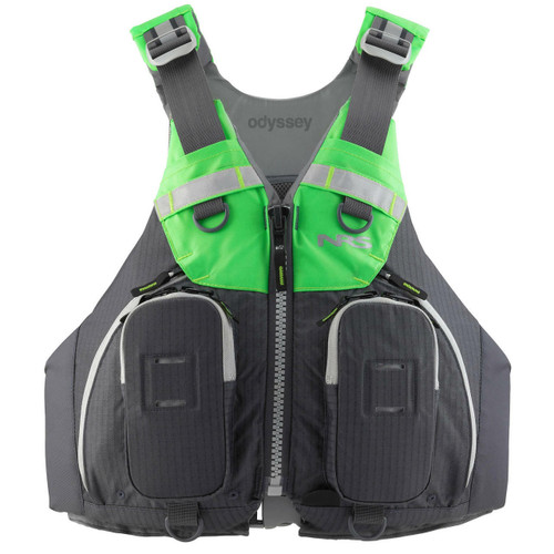 NRS Odyssey PFD - Charcoal, Front