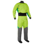 NRS Men's Pivot Drysuit, Front, Spring Green