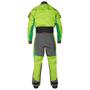 NRS Pivot Drysuit, Back, Spring Green