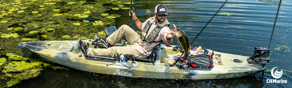 Hobie Outback Fishing Kayak Action