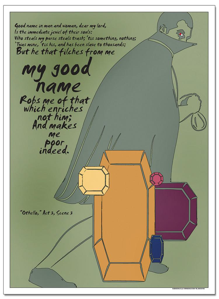 Good Name, Othello Literary Poster