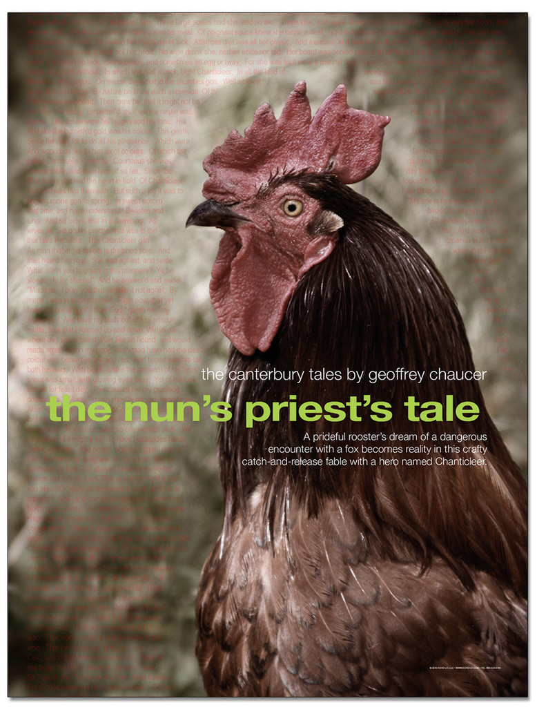Nun's Priest's Tale Literary Poster