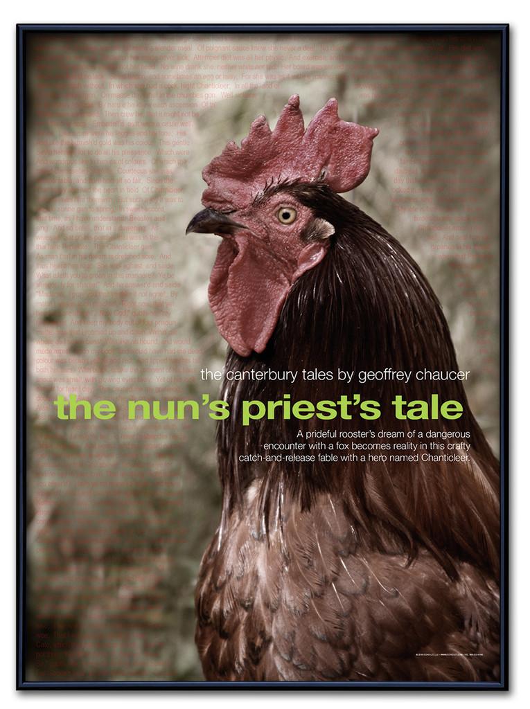 Nun's Priest's Tale Literary Poster
