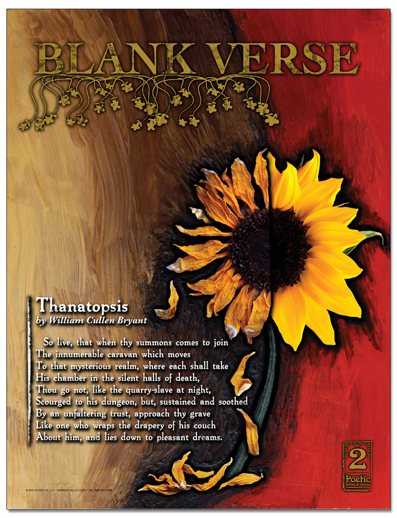 Blank Verse Poster