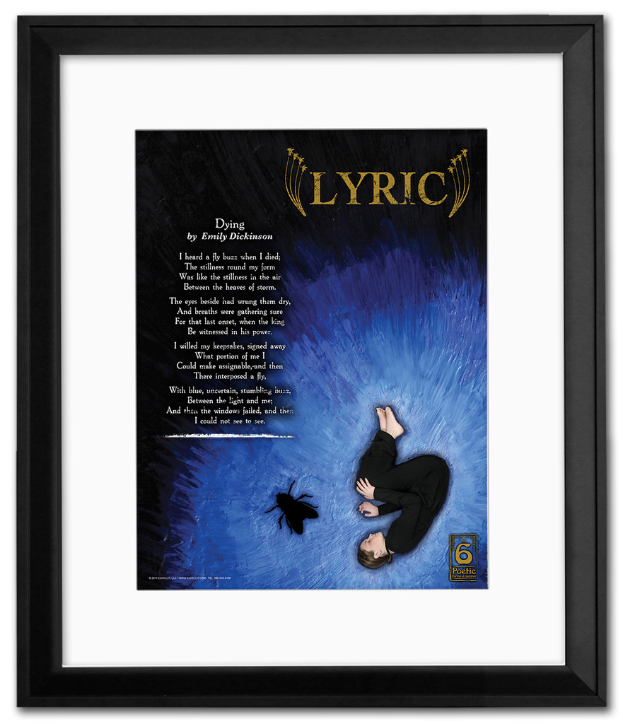 Lyric Literary Poster