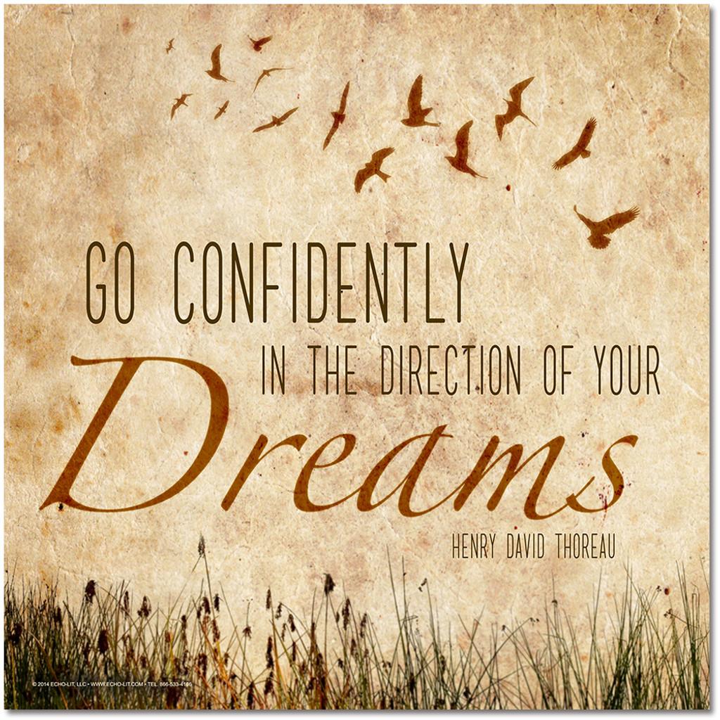 Go Confidently Poster