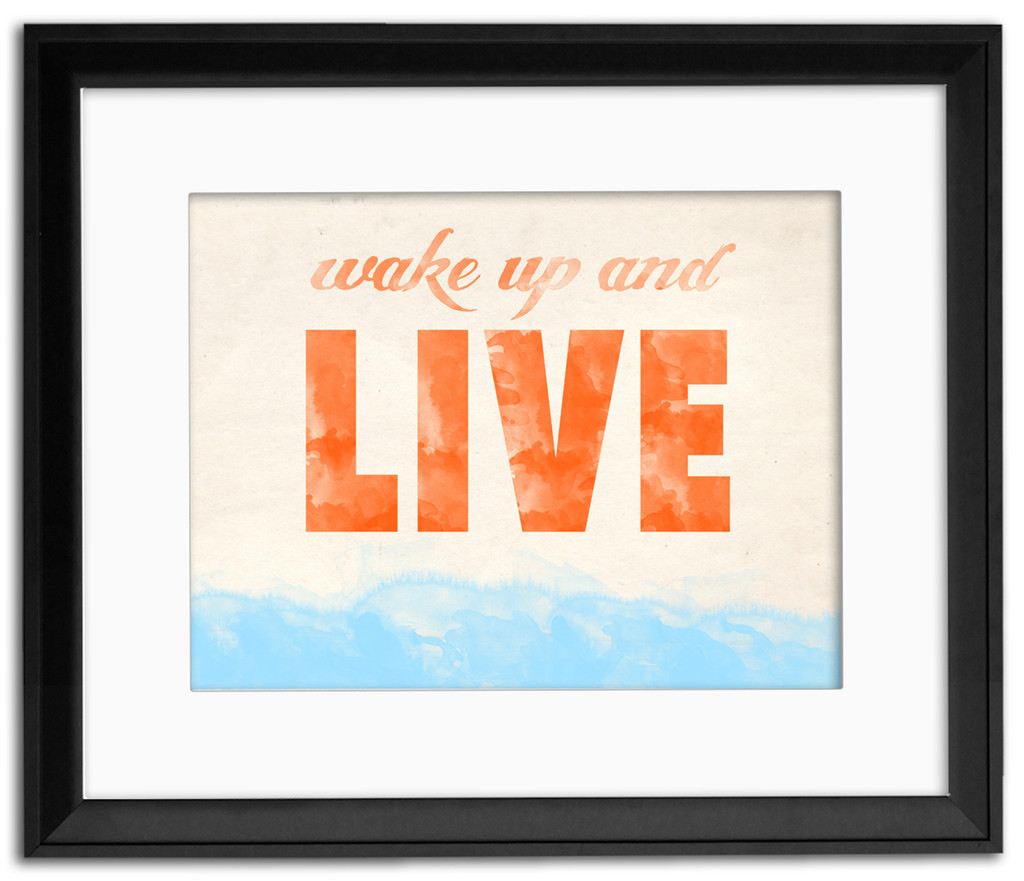 Dream, Live and Be Awesome Inspirational Posters. Fine Art Paper, Laminated, or Framed. Multiple Sizes Available for Home, Office, or School.