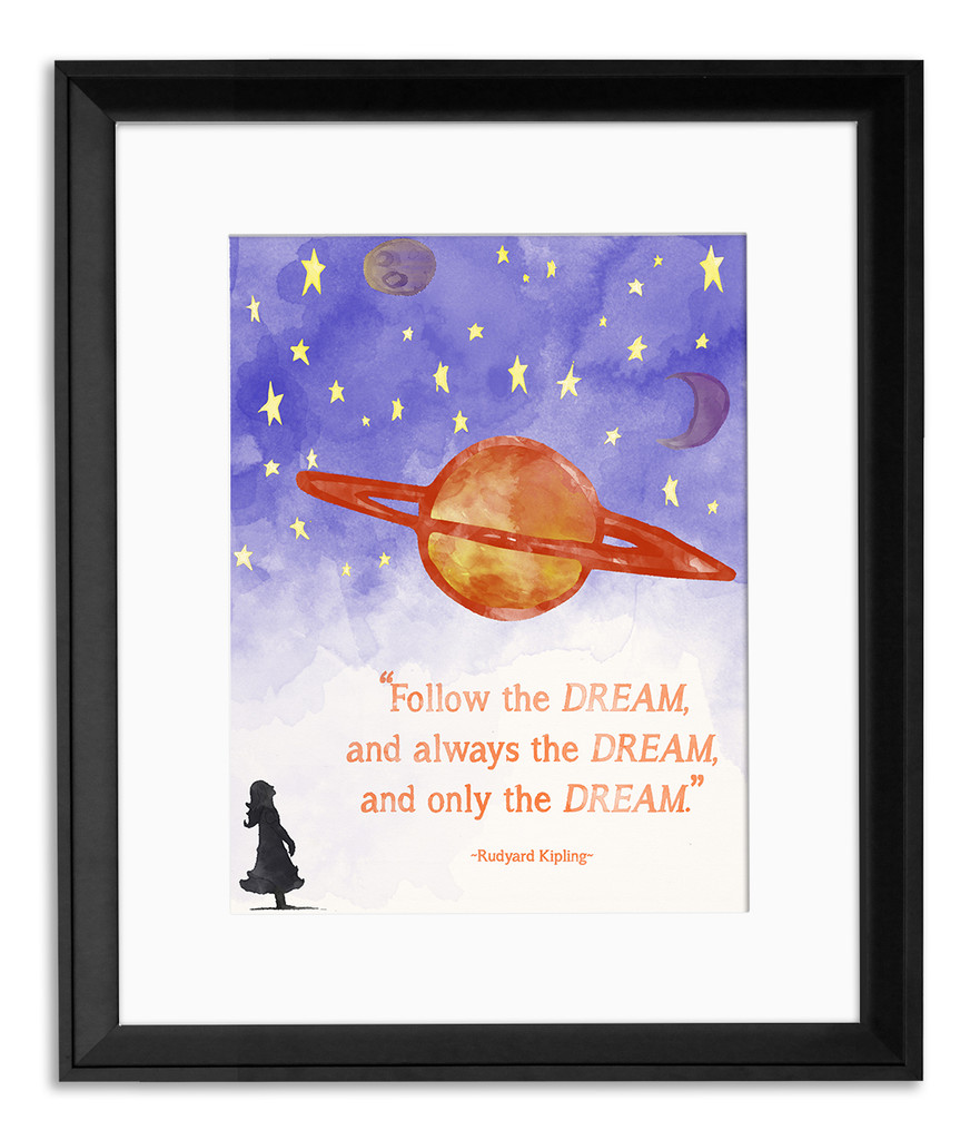Beloved Children's Literature Inspirational Quote Poster Set. Literary Quote Print. Fine Art Paper, Laminated, or Framed. Multiple Sizes Available for Home, Office, or School.