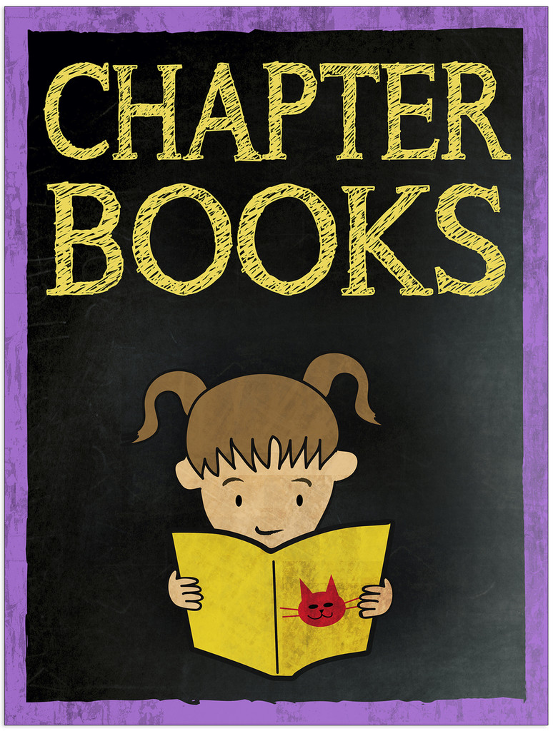 Chapter Books Customizable Library Print. Choose Fine Art Paper, Laminated, or Framed. Multiple Sizes Available