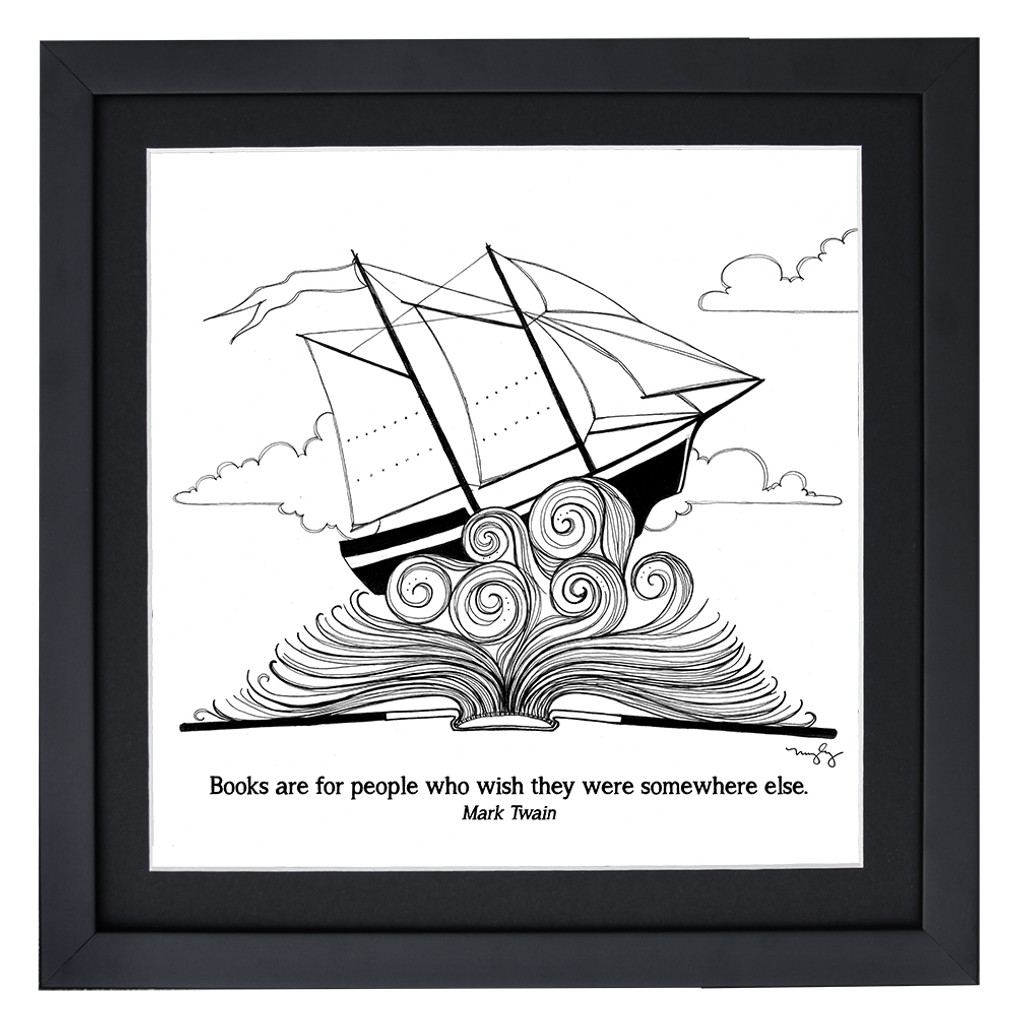 Literary Book Quote Print Poster Set. Eco-friendly Set Featuring Margaret Atwood, Edgar Allan Poe, Walt Whitman, J. K. Rowling, and More.  Fine Art Paper, Laminated, or Framed. Multiple Sizes Available for School, Library, Home, or Office.