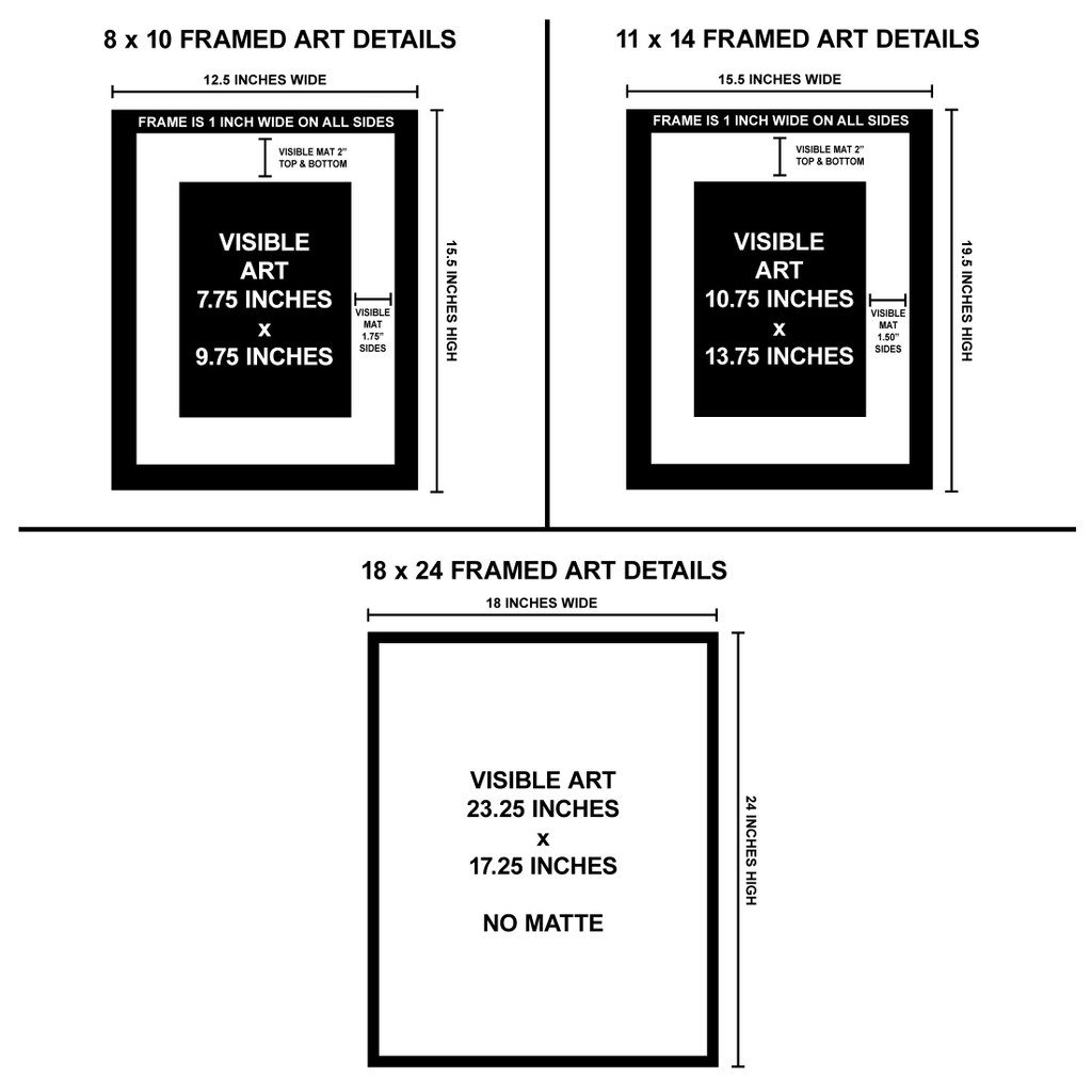 Mothman and the Flatwoods Monster Art Print Set. West Virginia Folk Art. Available Fine Art Paper, Laminated, or Framed. Multiple Sizes.