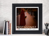 Protagonist Literary Term Art Print. Choose Fine Art Paper, Laminated, or Framed. Multiple Sizes Available