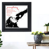 Personification Literary Term Poster. Paradise Lost Literature Quote. Choose Fine Art Paper, Laminated, or Framed. Multiple Sizes Available