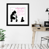 Anthropomorphism Literary Term Poster. Alice in Wonderland Literature Quote.  Choose Fine Art Paper, Laminated, or Framed. Multiple Sizes Available