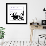 Foreshadowing Literary Term Poster. Edgar Allan Poe Quote Print.  Choose Fine Art Paper, Laminated, or Framed. Multiple Sizes Available