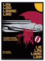 Lay/Lie Language Arts Poster