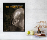 The Canterbury Tales Movie Style Poster. The Knight's Tale. Geoffrey Chaucer Literary Print. Poster, Laminated, or Framed. Multiple Sizes