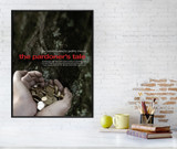 The Canterbury Tales Movie Style Poster. The Pardoner's Tale. Geoffrey Chaucer Literary Print. Plain, Laminated, or Framed. Multiple Sizes.