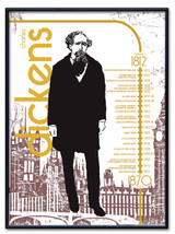 Charles Dickens Literary Poster