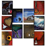 Poetry Forms and Genres Literary Poster Set