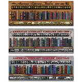 American Literary Timelines Poster Set