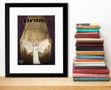 Drama Literary Genre. Literary Art Print. Educational Classroom Poster. Paper, Laminated, or Framed. Multiple Sizes