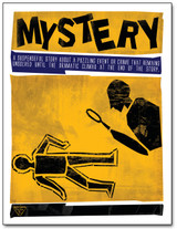 Mystery Literary Poster