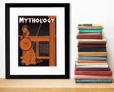 Mythology Literary Genre. Educational Classroom Poster. Paper, Laminated, or Framed. Multiple Sizes